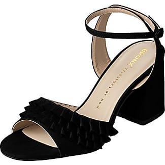 Sandali neri per donna Bronx 5k324