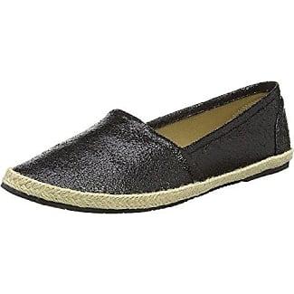 Buffalo Shoes 215-9749-2 Elastic Fabric, Mocasines para Mujer, Negro (Black 01), 38 EU