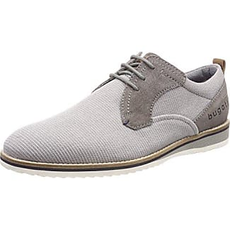 Mens 311163041500 Derbys, Grey, 9 UK Bugatti