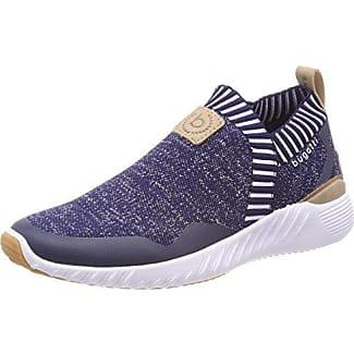 421448036959, Sneakers Basses Femme, Bleu (Blue/Multicolour), 38 EUBugatti