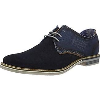 K442463, Sneakers Basses Homme, Bleu (Dunkelblau 425), 43 EUBugatti