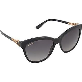Bvlgari Unisex-Erwachsene Sonnenbrille 8144, Schwarz (Black), 57