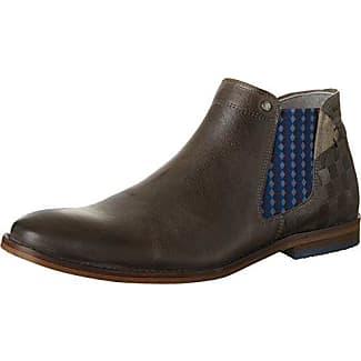 811E6C501, Chelsea Boots Femme, Multicolore (Taup), 39 EUBullboxer