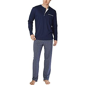 Nightshirt -Chill Out - Camiseta de pijama para hombre, color blau (dark blue 449), talla L CALIDA