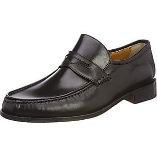 Calpierre 2055-G, Zapatos de Cordones Oxford para Hombre, Negro (Nero Nero), 43 EU
