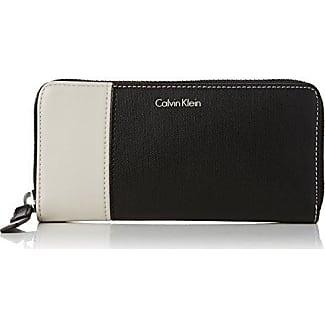 Calvin Klein Grid Large Ziparound Tech, Portefeuilles mixte adulte, (Calvin Grid), 2x11x20 cm (B x H T)