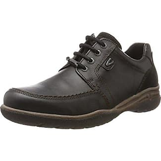 camel active Washington 11 - Zapatos de cordones para hombre, color schwarz (black), talla 44
