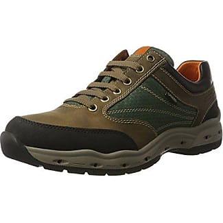 Camel Active Breathe GTX 11, Zapatos de Cordones Oxford para Hombre, Marrón (Mushroom), 42.5 EU