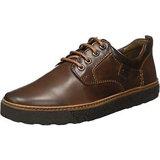Camel Active Breathe GTX 11, Zapatos de Cordones Oxford para Hombre, Marrón (Mushroom), 46 EU