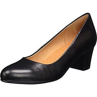 22406, Zapatos de Tacón para Mujer, Negro (Black Reptile 10), 37.5 EU Caprice