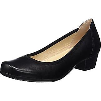 24401, Zapatos de Tacón para Mujer, Negro (Black Reptile), 36 EU Caprice