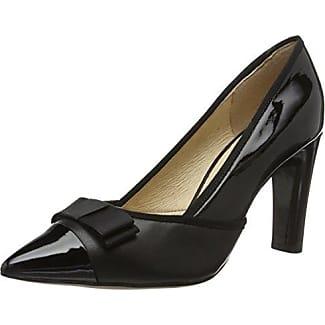 Caprice 22305, Zapatos de Tacón para Mujer, Negro (Black Comb 19), 38.5 EU