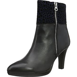 Caprice Daniela Black, Schuhe, Stiefel & Stiefeletten, Stiefel mit Absatz, Grau, Female, 37