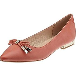 Caprice 29300, Zapatos de Punta Descubierta para Mujer, Beige (Taupe Multi), 39 EU