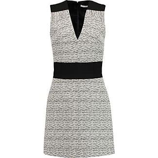 Carven Woman Cloqué Mini Dress Black Size 36 Carven 7uxofe46so