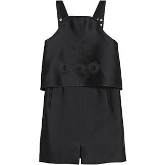 Pre Order Sale Online Carven Woman Layered Laser-cut Twill Mini Dress Black Size 36 Carven Cheap From China Shop For New Arrival nKfEw