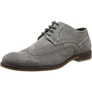 Casanova Larita - Zapatos de Cordones de Cuero para Hombre Negro Negro 41 Casa Nova N2zZUq