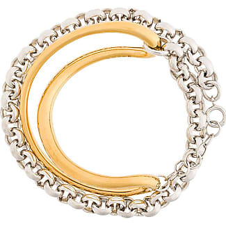 Charlotte Chesnais Initial chain bracelet - Metallic kXTfatz4