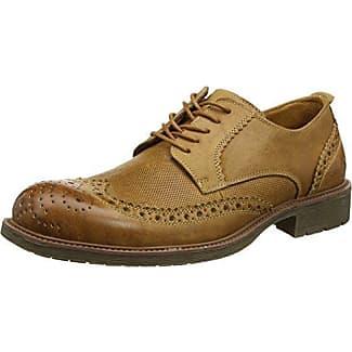 Chatham Marine D106 - Náuticos de cuero para hombre, color marrón, talla 40.5