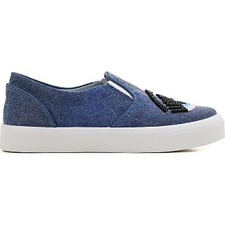 Chaussures De Sport Pour Les Femmes En Vente, Bleu Denim, Cuir, 2017, 3,5 4 4,5 Hogan