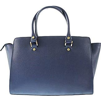 CTM Woman Inspired Hand Bag Stylish, 32x23x18cm, 100% Genuine Leather Made in Italy Chicca Tutto Moda