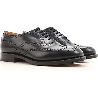 Lace Up Shoes for Men Oxfords, Derbies and Brogues On Sale, Black, Leather, 2017, 9.5 Pantanetti