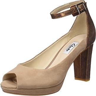 Clarks Femmes Pompes Kendra Ella - Gris - 39,5 Eu