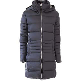 Down Jacket for Women, Puffer Ski Jacket On Sale in Outlet, Dark Blue, Down, 2017, 12 8 Colmar
