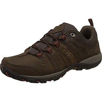 Columbia Peakfreak Venture Waterproof - Stivali da Escursionismo Uomo, Marrone (Cordovan, Squash 231), 40 EU