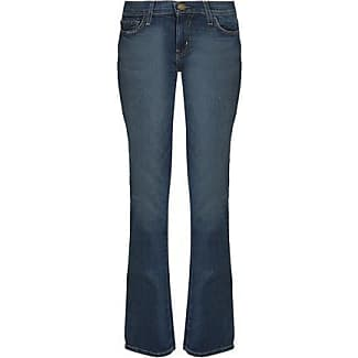 Current/elliott Woman High-rise Flared Jeans Dark Denim Size 27 Current Elliott LnRqk