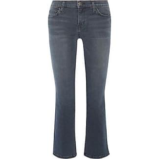 Free Shipping 2018 Unisex 2018 New Online Current/elliott Woman Distressed Mid-rise Flared Jeans Mid Denim Size 30 Current Elliott jXMYBDD2C