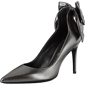 Paul-90 W/ACC.Strass, Zapatos de Tacón para Mujer, Azul (Blu Vel.), 41 EU Deimille