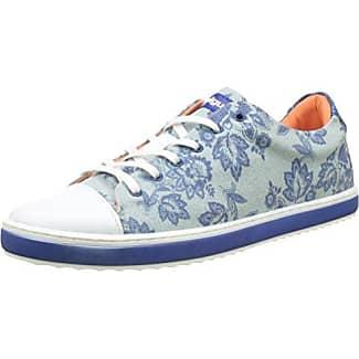 Desigualhappyness - Chaussures Femmes, Bleu, Taille 36 Eu