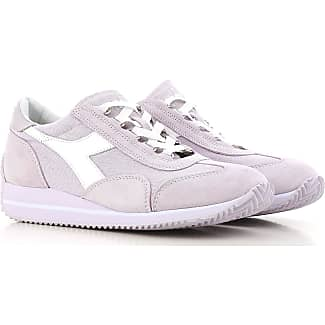 Sneakers for Women On Sale, White, Leather, 2017, 3.5 4.5 5.5 6.5 7.5 Diadora