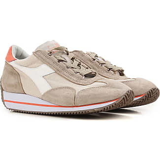 Sneakers for Women On Sale, lilla, Suede leather, 2017, 4.5 5 5.5 6.5 7 8.5 Diadora