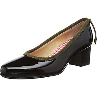 Diavolezza Cleo - Zapatos de tacón para mujer, color negro, talla 36