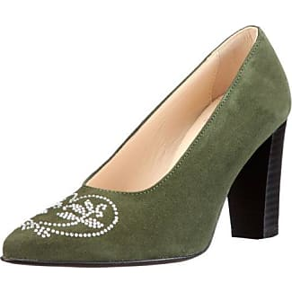 Diavolezza Ediana - Zapatos de tacón para mujer, color negro, talla 38.5