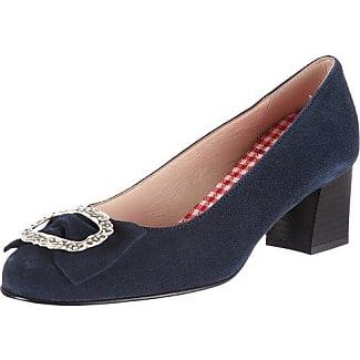 Diavolezza CELINE 6050 - Zapatos de tacón de cuero para mujer, color turquesa, talla 35