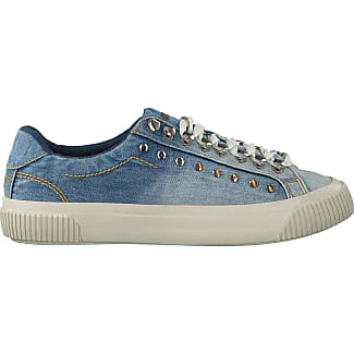 Chaussures De Sport Diesel « Noir Et Blanc » Denim Bleu Hoog zdwfeSu