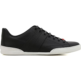 Sneakers for Women On Sale, Black, Leather, 2017, 7.5 Dior
