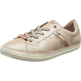 Caprice 23605, Zapatillas para Mujer, Dorado (Gld Met Comb 927), 37 EU