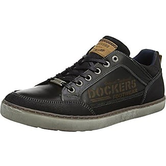 39CL011-112360, Sneakers Basses Homme - Noir (Schoko 360), 44 EUDockers by Gerli