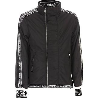 Jacket for Men On Sale, antracite, polyamide, 2017, L M XL Dolce & Gabbana
