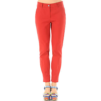 Pants for Women On Sale in Outlet, Strawberry, Cotton, 2017, 30 32 Dolce & Gabbana