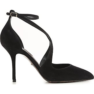 Pumps & High Heels for Women On Sale, Black, Leather, 2017, 4.5 5.5 Dolce & Gabbana