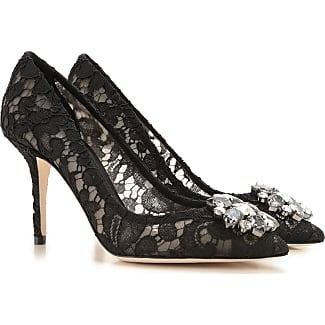 Pumps & High Heels for Women On Sale, Black, Velvet, 2017, 3.5 4 4.5 6 Dolce & Gabbana