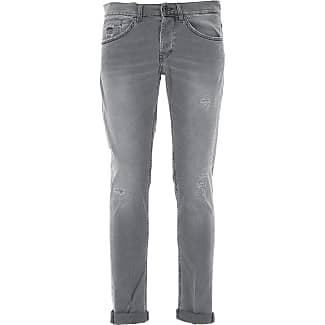 Jeans On Sale, Dark Grey, Cotton, 2017, 30 31 32 34 36 Dondup