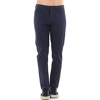 Pantalons Pour Les Hommes En Vente, Bleu, Coton, 2017, 30 32 Dondup