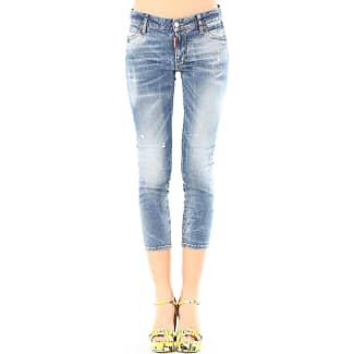 Jeans On Sale, Twiggy Jean, Denim Blue, Cotton, 2017, 26 28 30 Dsquared2