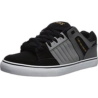 DVS Enduro 125, Chaussures de Skateboard Hommes, Gris (Charcoal Black Nubuck 022), 42.5 EU